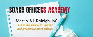 Board Officers Academy @ NCSBA Assembly Hall | Raleigh | North Carolina | United States