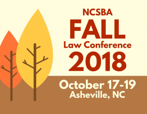 2018 Fall Law Conference @ Renaissance Asheville Hotel