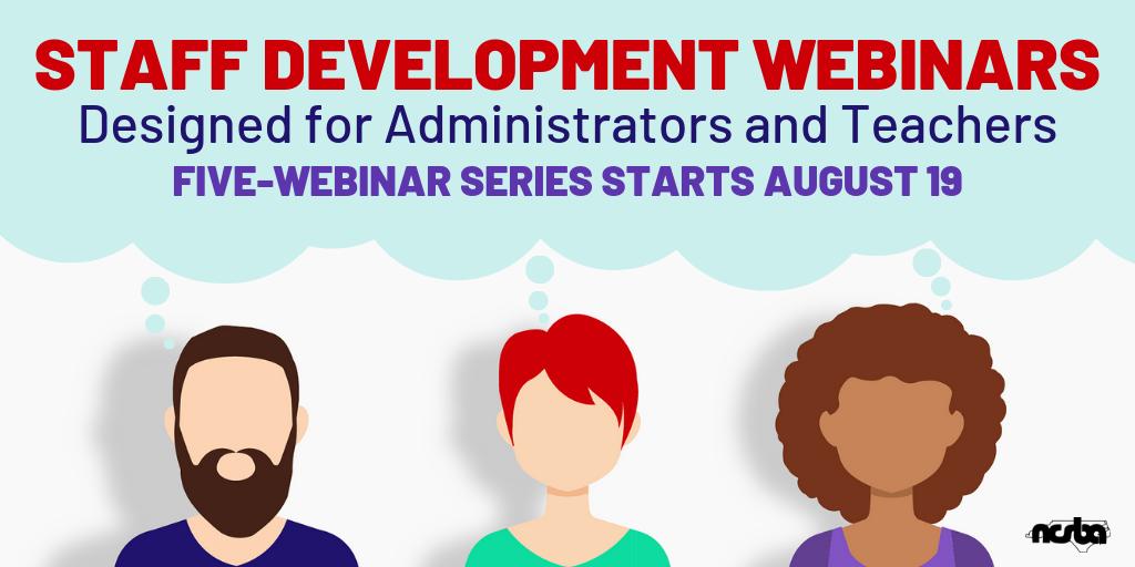 Staff Development Webinars
