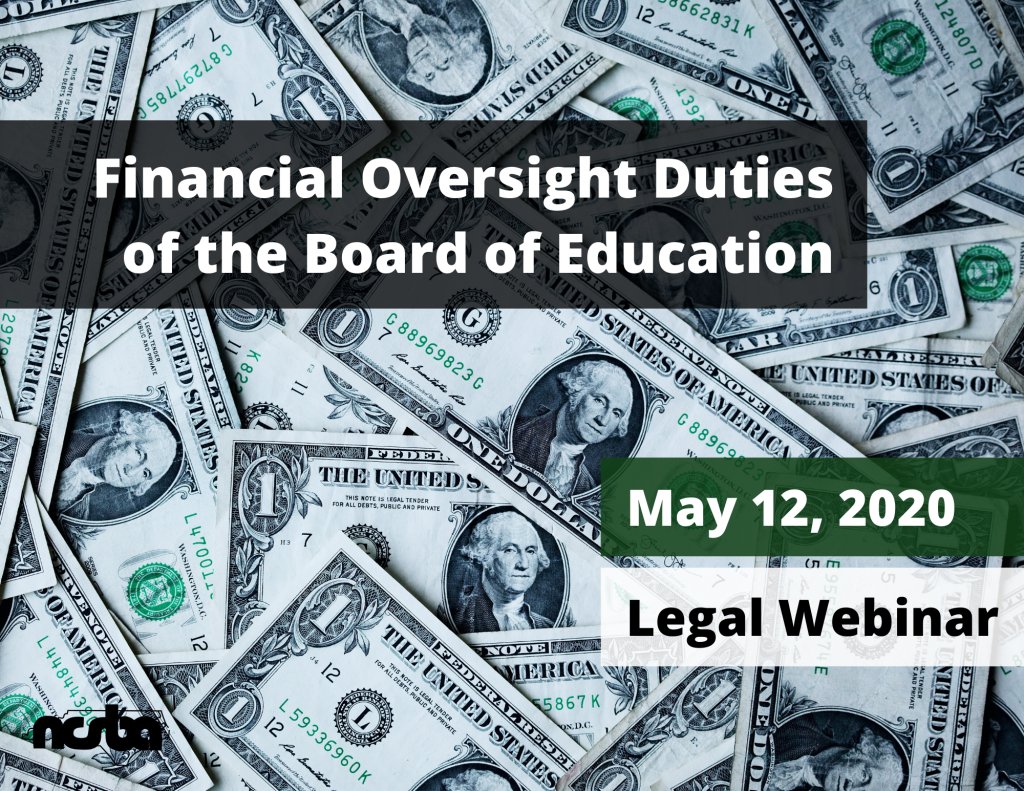 Financial Oversight Duties of the Board of Education (Webinar)