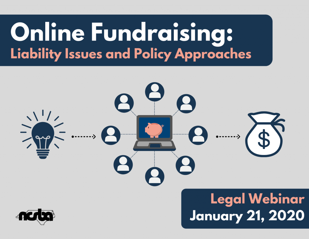 Online Fundraising: Liability Issues and Policy Approaches (Webinar)