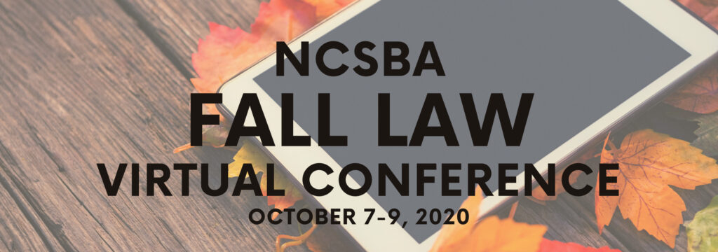 Fall Law Conference @ Virtual Event